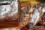 Мраморный кекс на сгущенке ингредиенты