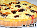 Пирог со сливами и творогом ингредиенты