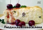 Творожная запеканка со сметанным кремом и ягодами ингредиенты
