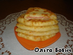 Сырные лепешки за 5 минут Кефир