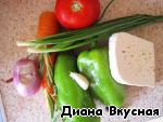 """Перцы в соку """"Диетические"""" ингредиенты"""