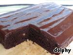 Шоколадно-банановый пирог Соль