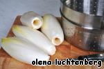 Салатный цикорий с ветчиной под сырным соусом ингредиенты