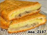 Пирог с начинкой из картофеля и грибов ингредиенты