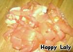 Макароны с курицей, грибами и томатами ингредиенты