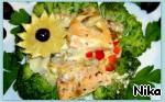 Нежная форель с белыми грибами ингредиенты