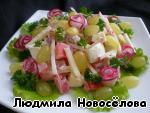Салат из мяса индейки ингредиенты