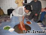 Турецкие сырые котлеты — чий кeфте ингредиенты