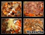 Паштида с печенью и грибами ингредиенты