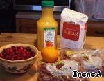 Клюквенный cоус ингредиенты