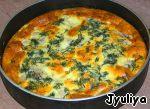 Курочка в яично-сырной заливке Картофель
