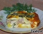 Курочка в яично-сырной заливке Яйцo куринoе