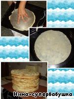 """Торт """"Наполеон"""" ингредиенты"""