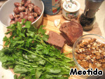 """Салат """"Сердцеед"""" ингредиенты"""