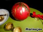 """Десерт """"Елочные шары"""" ингредиенты"""