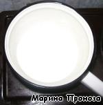 """фото Жареный торт """"Наполеон"""" с заварным кремом"""
