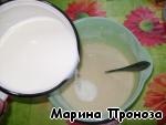 """Жареный торт """"Наполеон"""" с заварным кремом Галета"""