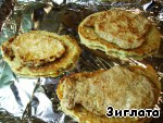 Мясо на дранике Чеснок