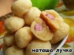 Сырные шарики с ветчиной ингредиенты