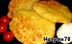 Кукурузные лепешки с сыром Чеснок