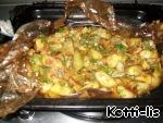 """Жареный картофель """"Хозяйка отдыхает"""" ингредиенты"""