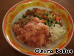 Куриный террин с овощами ингредиенты