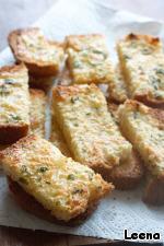 Сырно-чесночный хлеб Хлеб