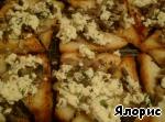 Грибные гренки с сыром ингредиенты