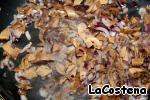 Штрудель с грибами и курицей Тесто слоеное дрожжевое
