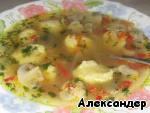 Гречневый суп с грибами и картофельными клецками ингредиенты
