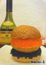 фото Гамбургер для настоящих мужиков
