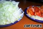 фото Тeплый салат с белыми грибами