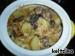 """Жаркое """"Сливочное"""" с грибами и сыром ингредиенты"""