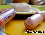 """Жареные сосиски в тесте """"по-франкфуртски"""" ингредиенты"""