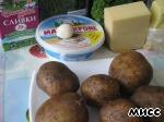 Запечeнный картофель с сырной начинкой Девичьи посиделки ингредиенты