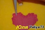 Мак из сахарной мастики