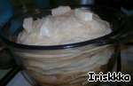 Блинный пирог с грибами и сыром ингредиенты