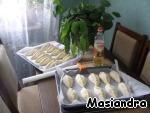 """Тесто и пироги """"К посту"""" ингредиенты"""