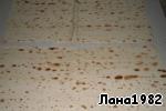 Рулетики из лаваша с курицей в сметанно-сырном соусе Лаваш
