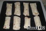 Рулетики из лаваша с курицей в сметанно-сырном соусе Сметана