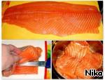 Рулет со слабосолeным лососем ингредиенты