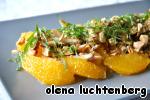 Марокканский апельсиновый салат с финиками Миндаль
