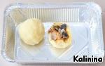 Картофельные шарики-зразы с грибами Шампиньоны