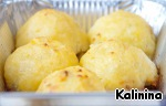 Картофельные шарики-зразы с грибами Зелень