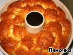"""""""Обезьяний"""" хлеб с сыром и чесноком Дрожжи"""