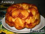 """""""Обезьяний"""" хлеб с сыром и чесноком Масло сливочное"""