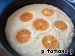 Мандариновый пирог Масло