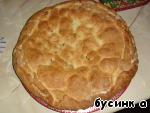 Пирог из творожного теста с яблоками ингредиенты