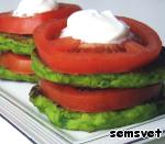 Оладьи из зеленого горошка Яйцо