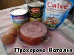 """Салат """"Тропиканка"""" ингредиенты"""